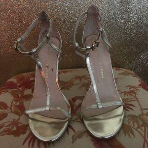 Gold heels!